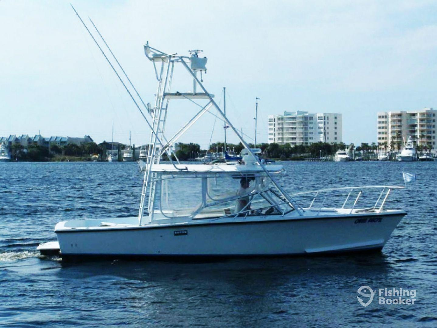 One mo r fishing charters destin fl fishingbooker for Destin florida fishing trips