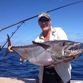 A Nice Dogtooth Tuna.