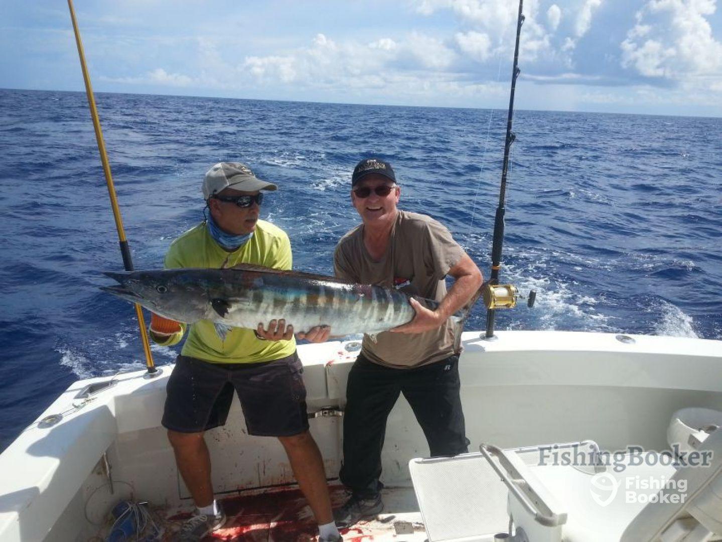 Maragata charters matt s cat humacao puerto rico for Puerto rico fishing charters