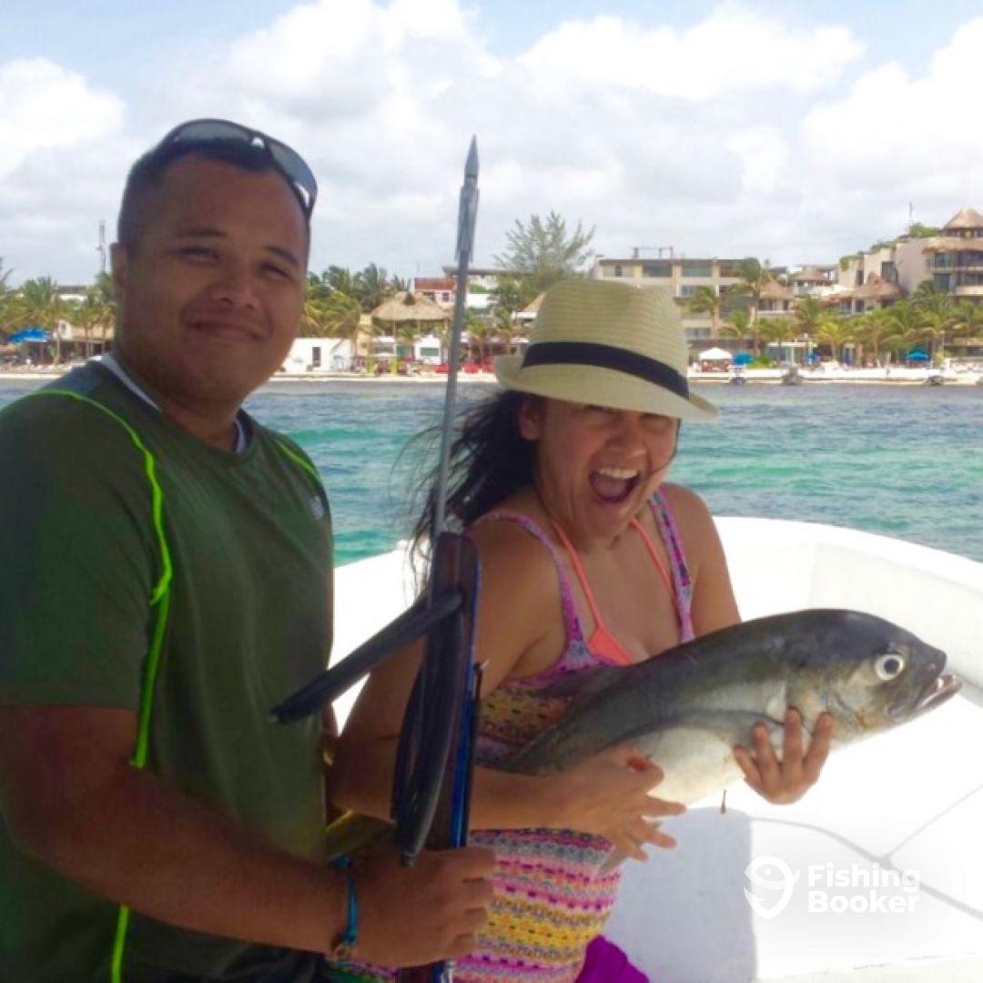Spearfishing today playa del carmen playa del carmen for Playa del carmen fishing charters