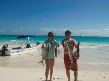 Spearfishing Today - Tulum, Tulum