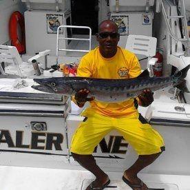Deep sea fishing with Waler One.