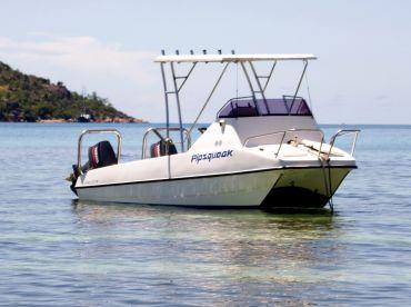 AGT Boat Charters - Pipsqueak, Praslin