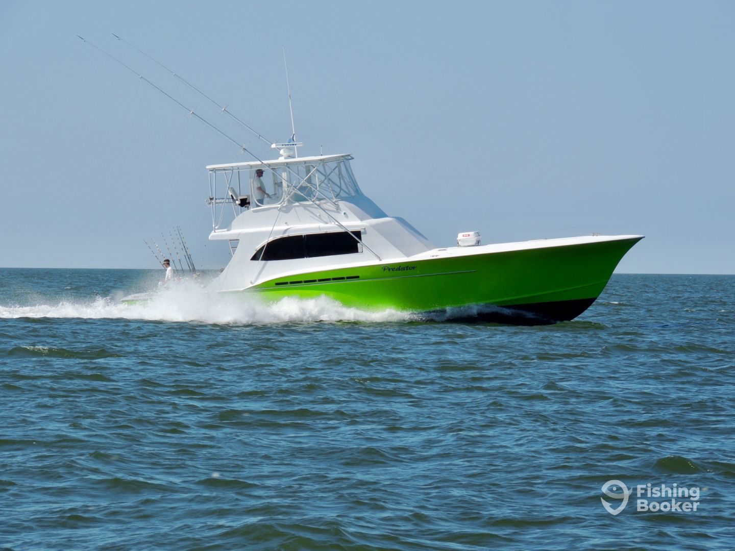 Predator sport fishing hatteras hatteras nc fishingbooker for Best sport fishing boats