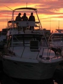 Sunsets in SOCAL are the best on a boat