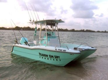 The Phat Katt II Tearin' Em Up! Fishing Charters Boat #1