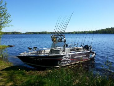 Active fishing in Finland!, Naarajärvi