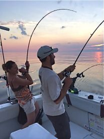 Rich n Tracy with a sunset double on kings
