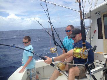 Capt. Osva Fishing Charters, Fajardo