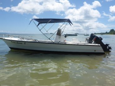 This boat its multi purpose,island hoping and good for fishing ,popping mostly