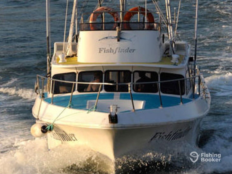 FIND FISH FAST aboard Fishfinder
