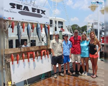 Charter Boat Sea Fix