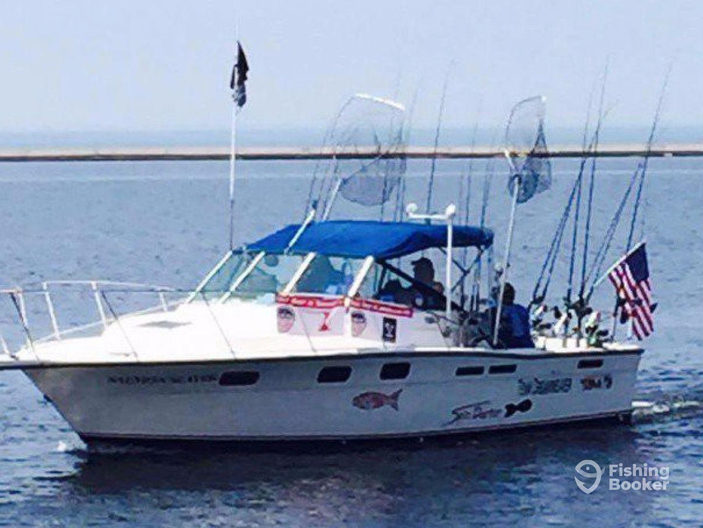Salmon slayer sportfishing charters ludington mi for Salmon fishing charters