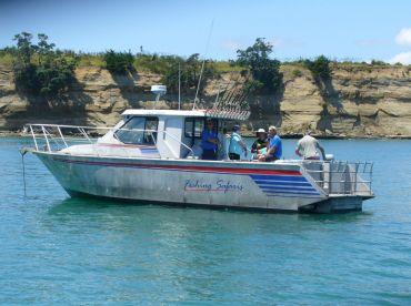 MV Mantaray off Rakino Island, Hauraki Gulf, Auckland, NZ