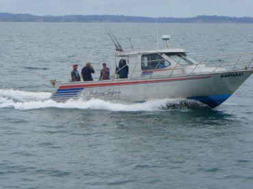 Fishing aboard MV Mantaray