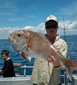 Snapper Fishing, Hauraki Gulf, Auckland, New Zealand
