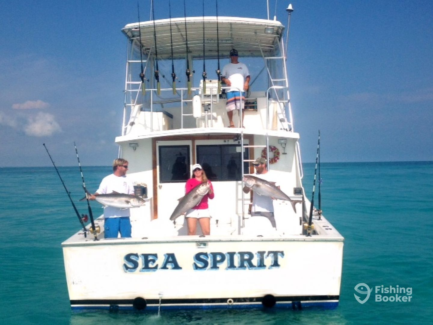 sea spirit offshore fishing key largo fl fishingbooker