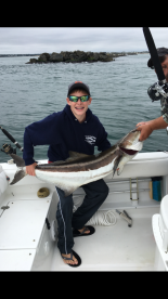 Birthday Boy reeled in this big Cobia!