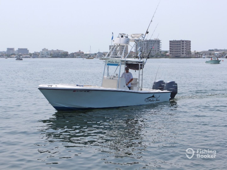 Charter boat malia ann destin fl fishingbooker for Charter fishing destin