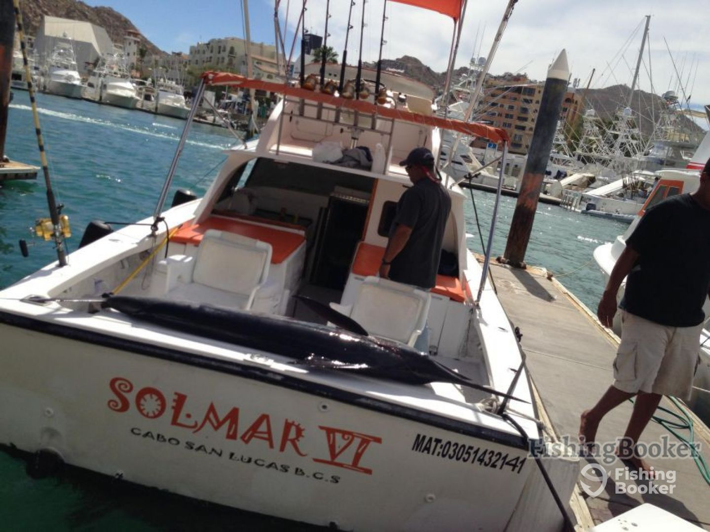 Solmar vi sportfishing 31 ft boat cabo san lucas mexico for Cabo san lucas fishing charters