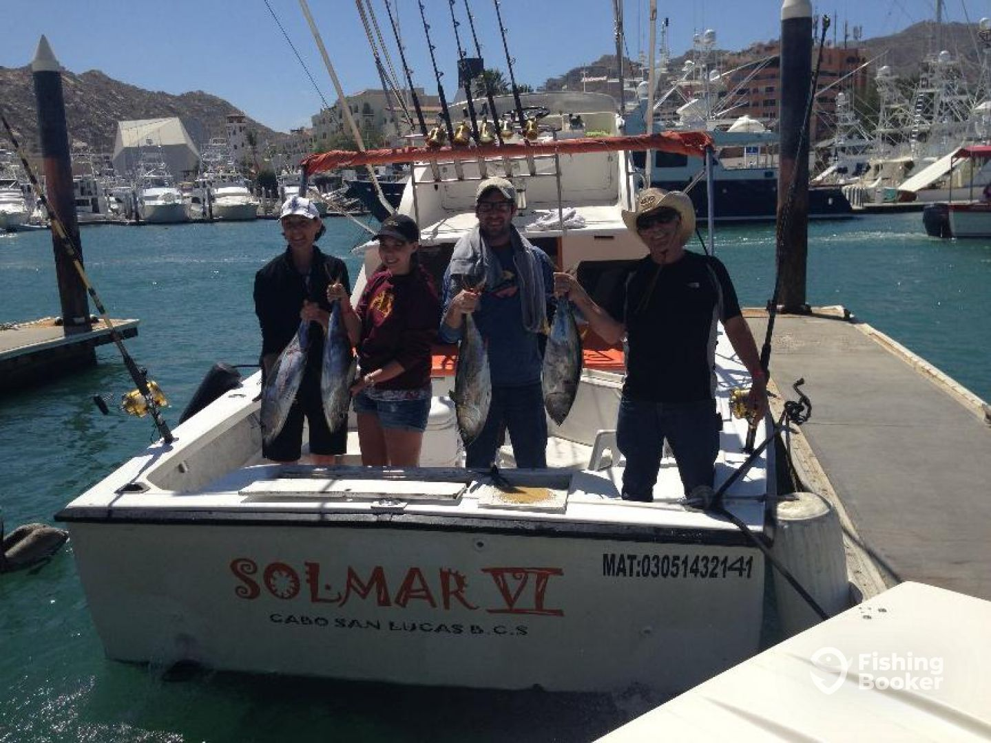 Solmar vi sportfishing 31 ft boat cabo san lucas mexico for Fishing cabo san lucas