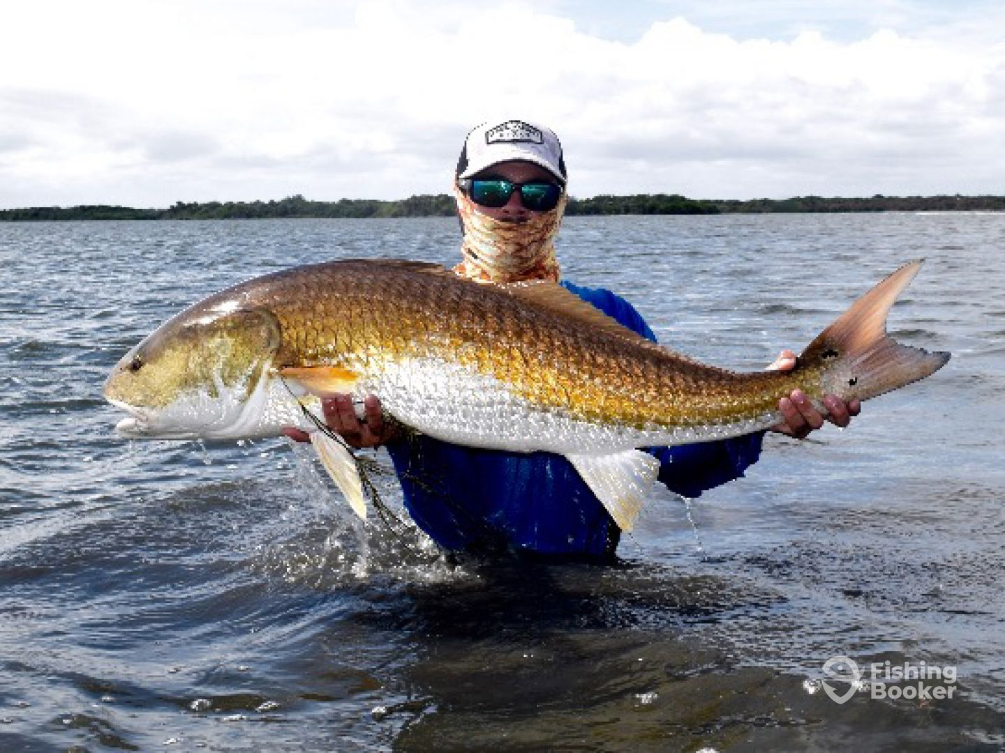 Schooled up redfish charters orlando fl fishingbooker for How to fish for redfish
