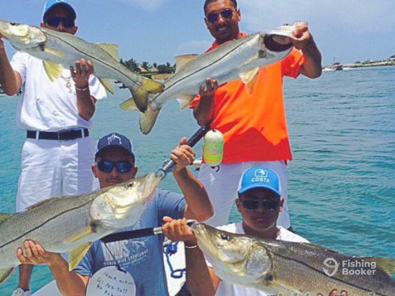 Snook action charters jupiter fl fishingbooker for Fishing charters jupiter fl