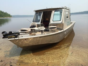 A good look at our fishing machine!