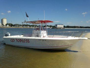"""Go Topless"" Fishing Charters, Biloxi"