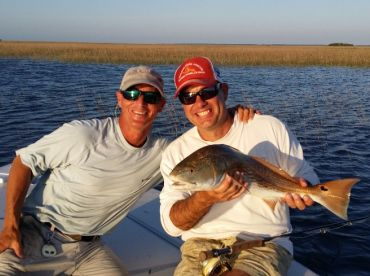 Tailing reds on the fly and spinning rod
