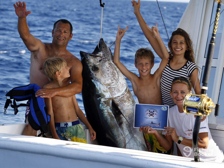 Angeln auf Thunfisch Kroatien