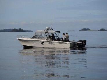 Custom 29 ft charterboat