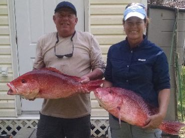 Red Snapper from deeper waters