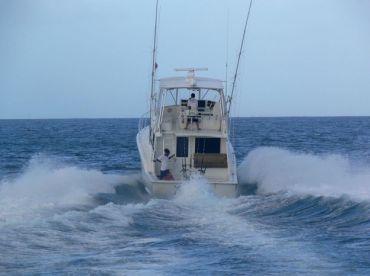 Heading offshore!