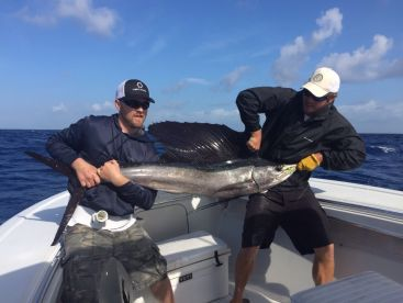 Everyone remembers there first sailfish!