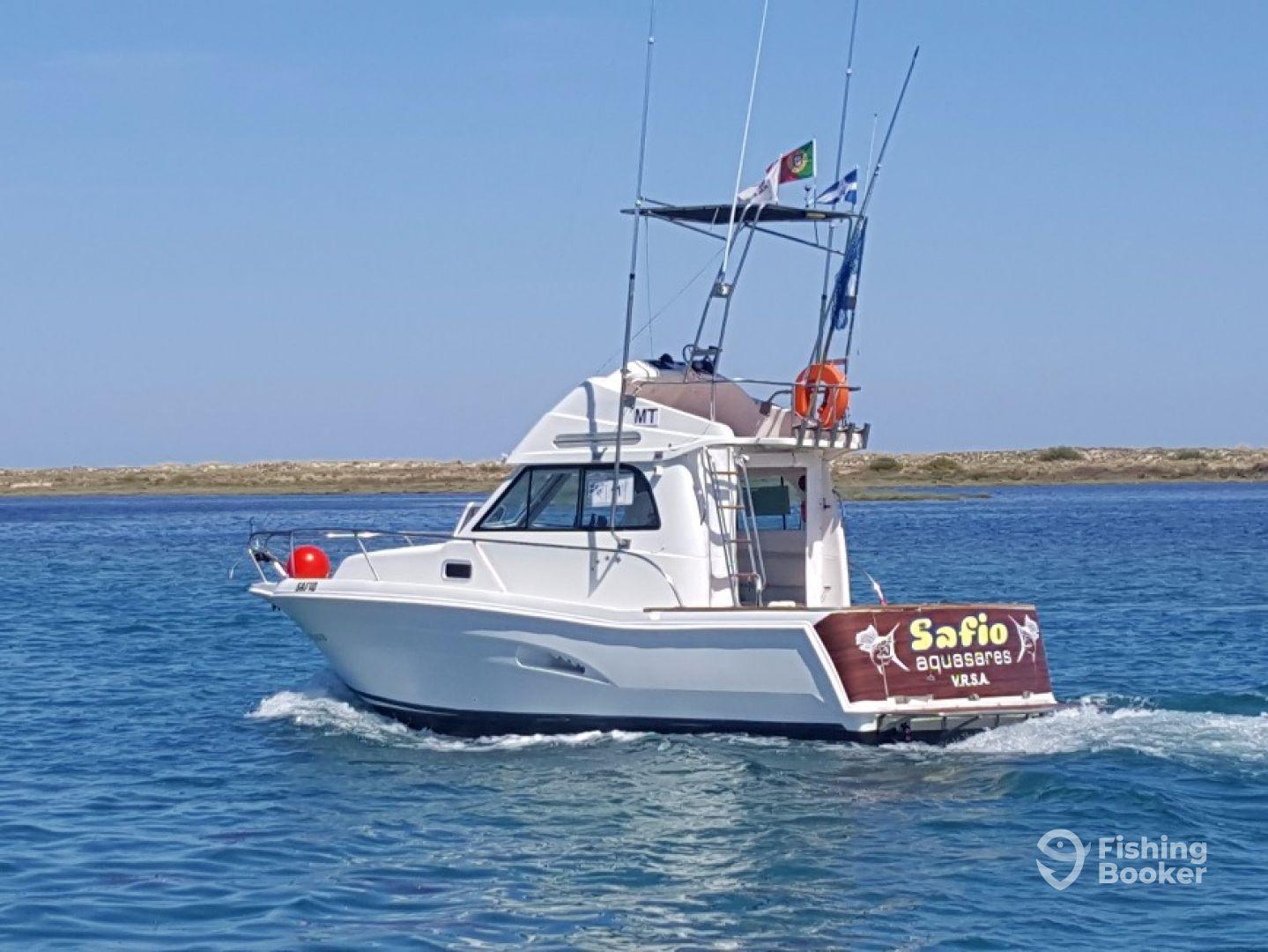 Aquasares offshore fishing charters tavira portugal for Offshore fishing charters