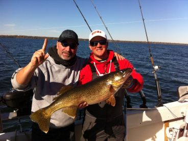 Bay of Quinte trophy walleye.