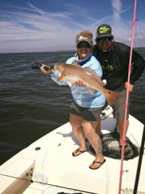 2nd place redfish in Steinhatchee community tournament caught by a client.