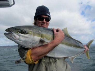 Bob with a very nice reef Kingfish.