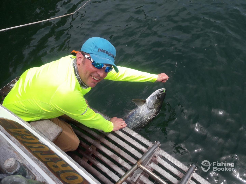 Tarpon! I am soooo happy with my catch!