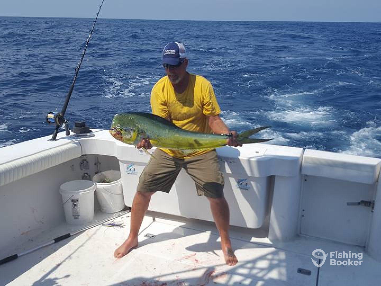 Ocean stinger fishing charters wilmington nc fishingbooker for Fishing charters carolina beach nc
