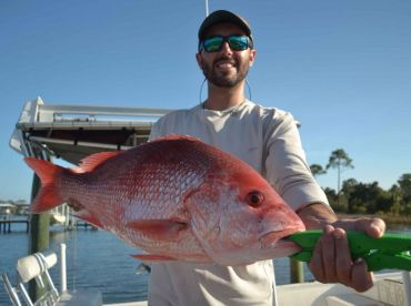 Big Beautiful Pensacola Red Snapper!!! Caught with us at Tradition Fishing Charters!!!
