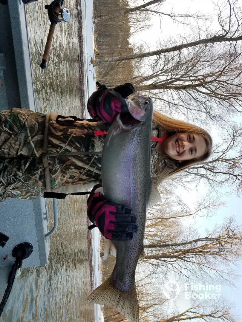 February steelhead spawn float fishing