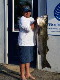 Capt. EJ Kaminski  47 1/2 lb Striped Bass