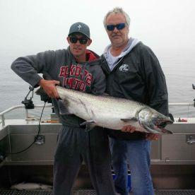 38 pound king salmon