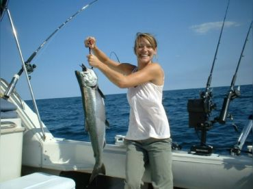 Blue Max Charters Salmon Fishing