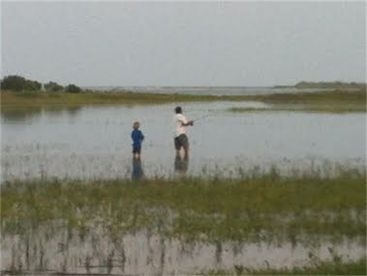Wading for Redfish