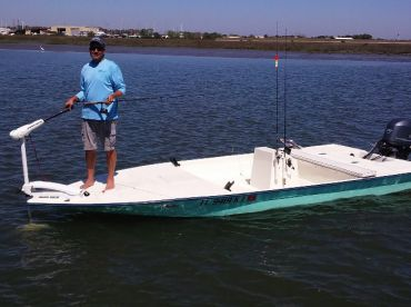 18' custom skiff