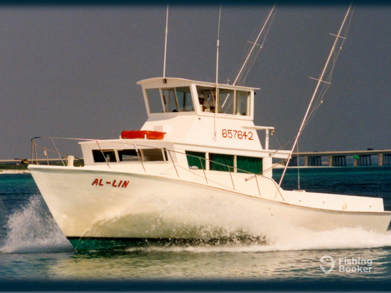 Charter boat al lin destin fl fishingbooker for Charter fishing destin
