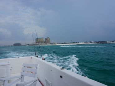 Heading out for a day of fishing
